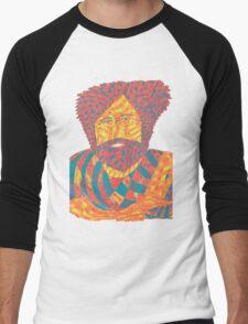 Jerry Garcia Psychedelic Men's Baseball ¾ T-Shirt