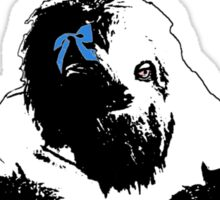 Stoner Sloth monochrome Sticker