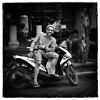 Faces of Kuta #07 ... Bali  by Malcolm Heberle