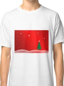 Christmas Landscape Classic T-Shirt