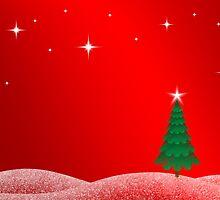 Christmas Landscape by Jenny Zhang