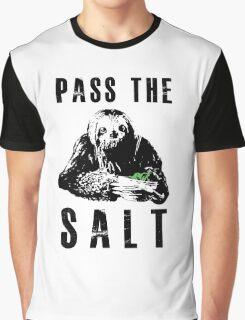Stoner Sloth - Pass the salt Graphic T-Shirt