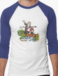 Hobbit O Men's Baseball ¾ T-Shirt