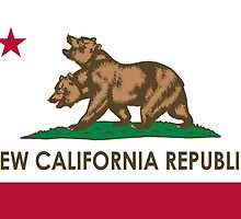 New California Republic Fallout Flag by goldendawn