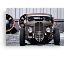 French Hot Rod Canvas Print