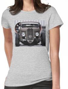 French Hot Rod Womens Fitted T-Shirt