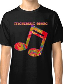 Psychedelic Rock 1 Classic T-Shirt