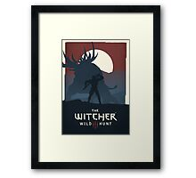 The Witcher Framed Print