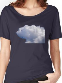 POLAR BEAR IN THE SKY Women's Relaxed Fit T-Shirt