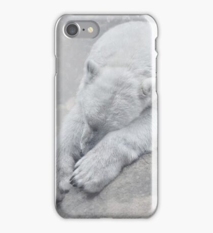 not dreaming of white christmas iPhone Case/Skin