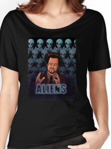 The Aliens Guy (Giorgio Tsoukalos) Color Women's Relaxed Fit T-Shirt