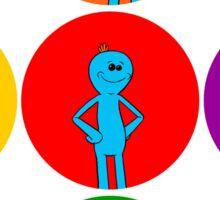 Meeseeks Bubbles Sticker
