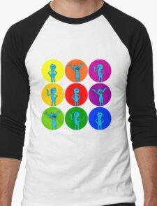 Meeseeks Bubbles Men's Baseball ¾ T-Shirt