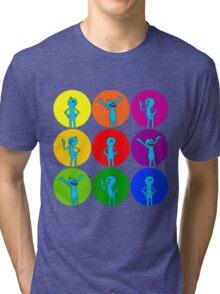 Meeseeks Bubbles Tri-blend T-Shirt