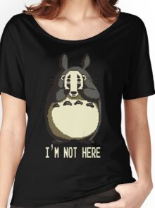 Totoro is not here Women's Relaxed Fit T-Shirt