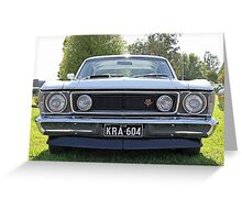 Full Frontal - Ford Falcon XW GT Greeting Card