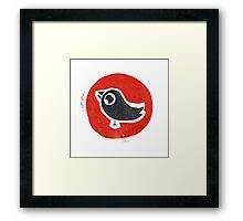 bird print Framed Print