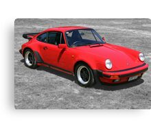 1985 Porsche 911 Turbo/Porsche 930 Canvas Print