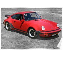 1985 Porsche 911 Turbo/Porsche 930 Poster