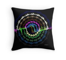 Abstract 338C Throw Pillow