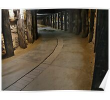 Dog Leg Tunnel, Cockatoo Island. Poster