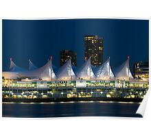 Canada Place in Vancouver Poster