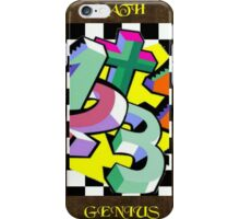 Maths Genius iPhone Case/Skin