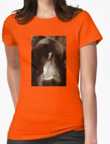 dark and light Womens Fitted T-Shirt