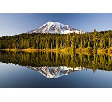 Mount Rainier from Reflection Lakes Photographic Print