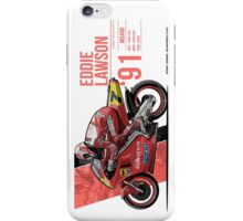 Eddie Lawson - 1991 Misano iPhone Case/Skin