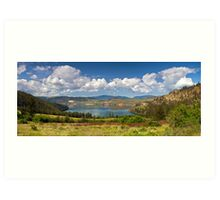 Kalamalka Provincial Park Panoramic Art Print