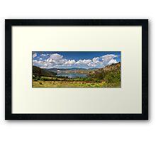 Kalamalka Provincial Park Panoramic Framed Print