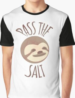 Stoner Sloth - Pass the salt (male) Graphic T-Shirt