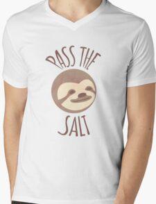 Stoner Sloth - Pass the salt (male) Mens V-Neck T-Shirt