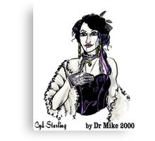 Cyd Starling by Dr Mike 2000 Canvas Print