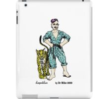 LeopardLass by Dr Mike 2000 iPad Case/Skin