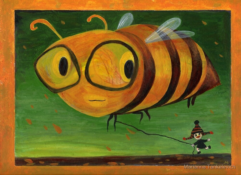 Bee Happy! by Marianna Tankelevich