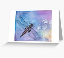 Four-spotted Chaser Greeting Card