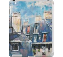 Roofs of Montmartre iPad Case/Skin