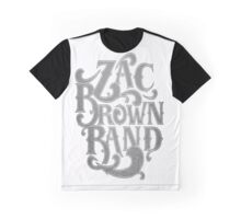 Zac Brown Band Jekyll Hyde Tour AM3q Graphic T-Shirt