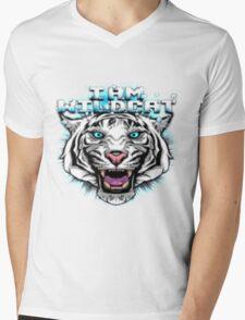 I am WildCat Mens V-Neck T-Shirt