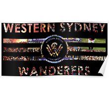 Western Sydney Wanderers - A-League Poster