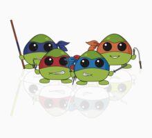 Cute Teenage Mutant Ninja Turtles One Piece - Short Sleeve