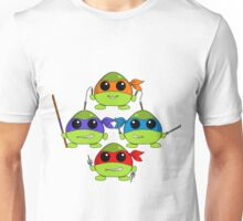 Cute Teenage Mutant Ninja Turtles Unisex T-Shirt