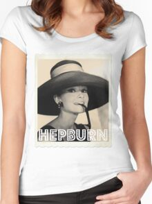 Audrey Hepburn Women's Fitted Scoop T-Shirt