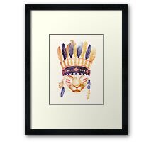 The Big Chief Framed Print