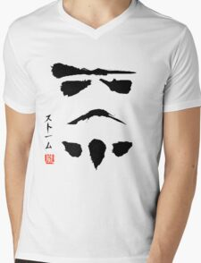 Star Wars Stormtrooper Minimalistic Painting Mens V-Neck T-Shirt