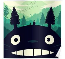 Forest Totoro  Poster