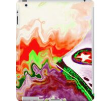 Abstract shoe 1 iPad Case/Skin