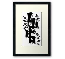 LUCHADOR 1023 Framed Print